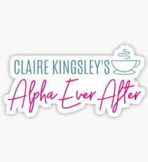 Alpha Ever After Glossy Sticker