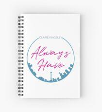 Always Seattle Spiral Notebook