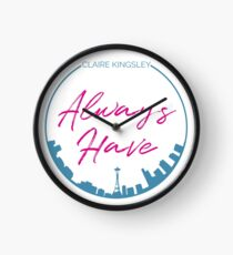 Always Seattle Clock