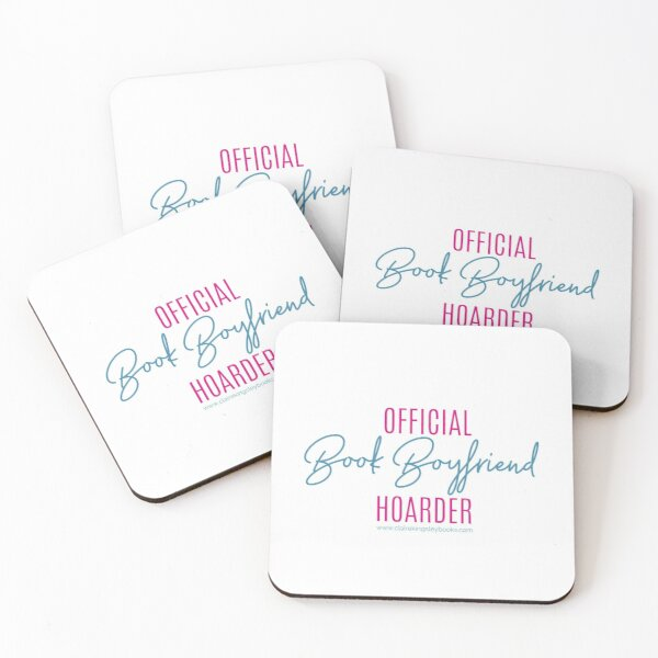 Book Boyfriend Hoarder Coasters (Set of 4)