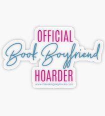 Book Boyfriend Hoarder Transparent Sticker