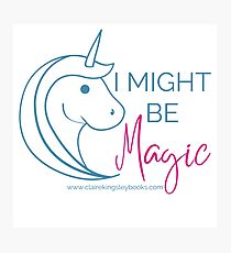 Might be Magic Photographic Print