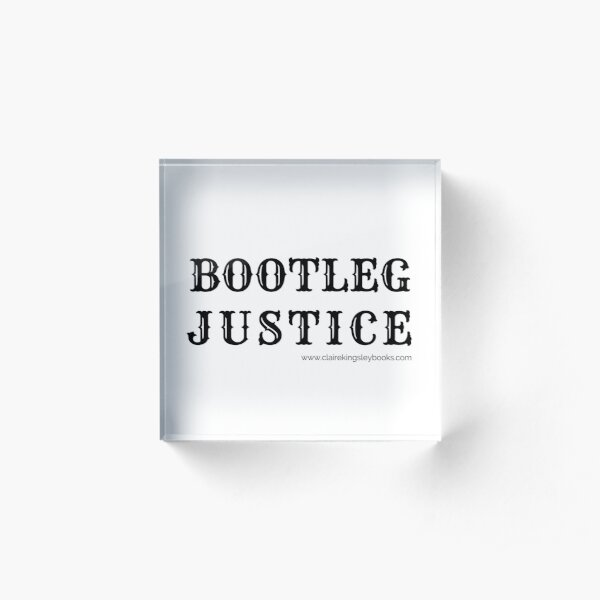 Bootleg Justice Acrylic Block