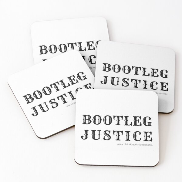 Bootleg Justice Coasters (Set of 4)