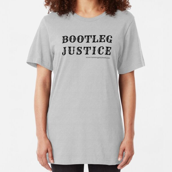 Bootleg Justice Slim Fit T-Shirt