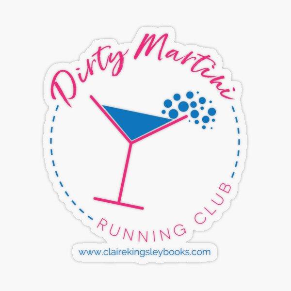 Dirty Martini Running Club Transparent Sticker