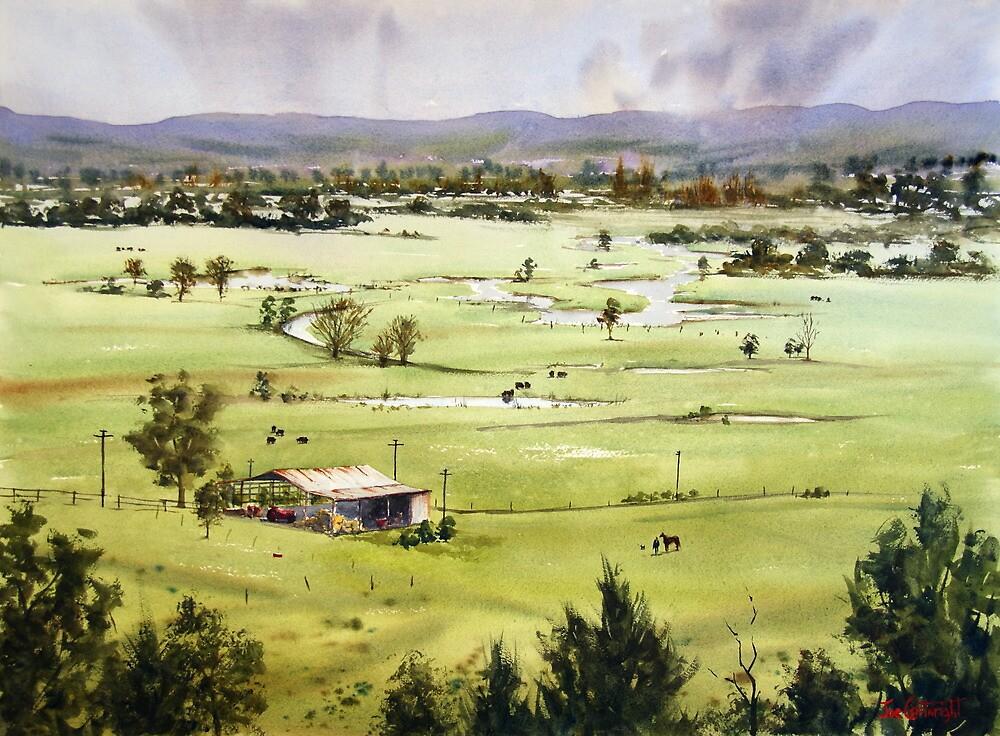 From Streeton Lookout, Freemans Reach by Joe Cartwright