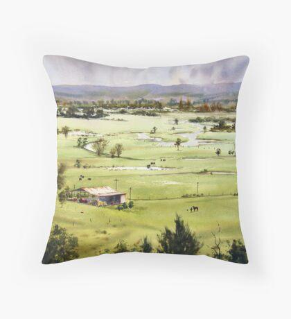 From Streeton Lookout, Freemans Reach Throw Pillow