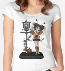 Nymph Dream Pumpkin Shirts & Stickers Women's Fitted Scoop T-Shirt