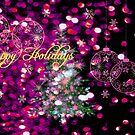 Happy Holidays. Card. by Vitta