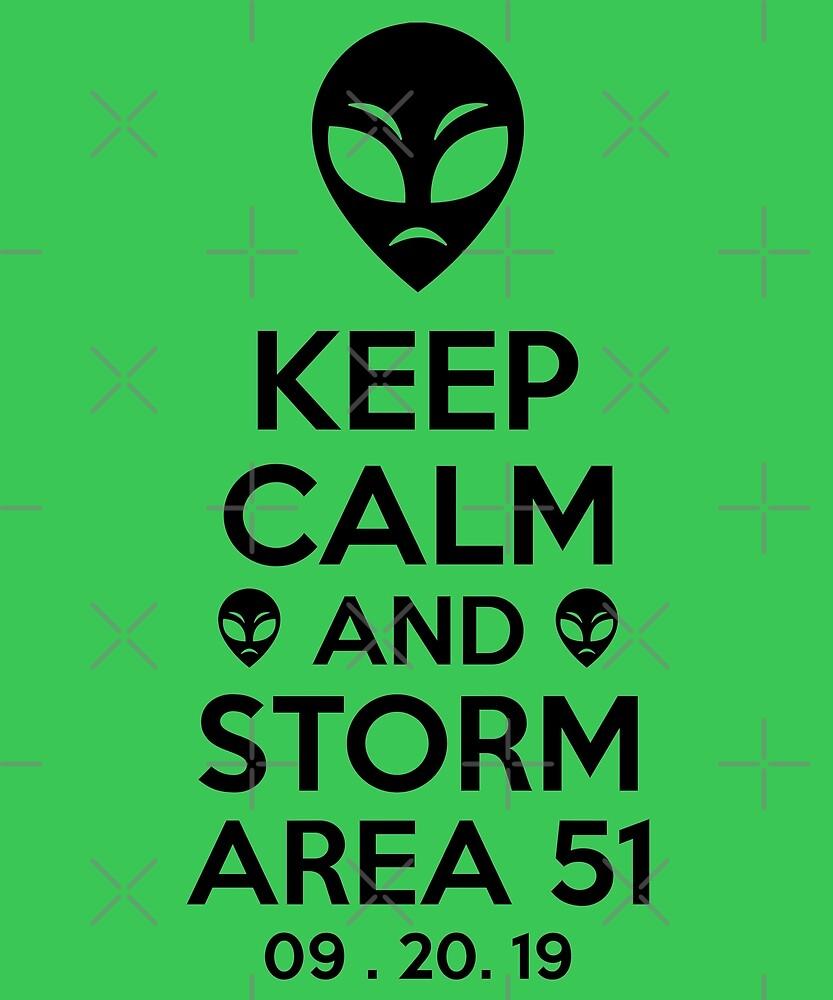 Comet Crab. Keep Calm Storm Area 51 by SavvyTurtle