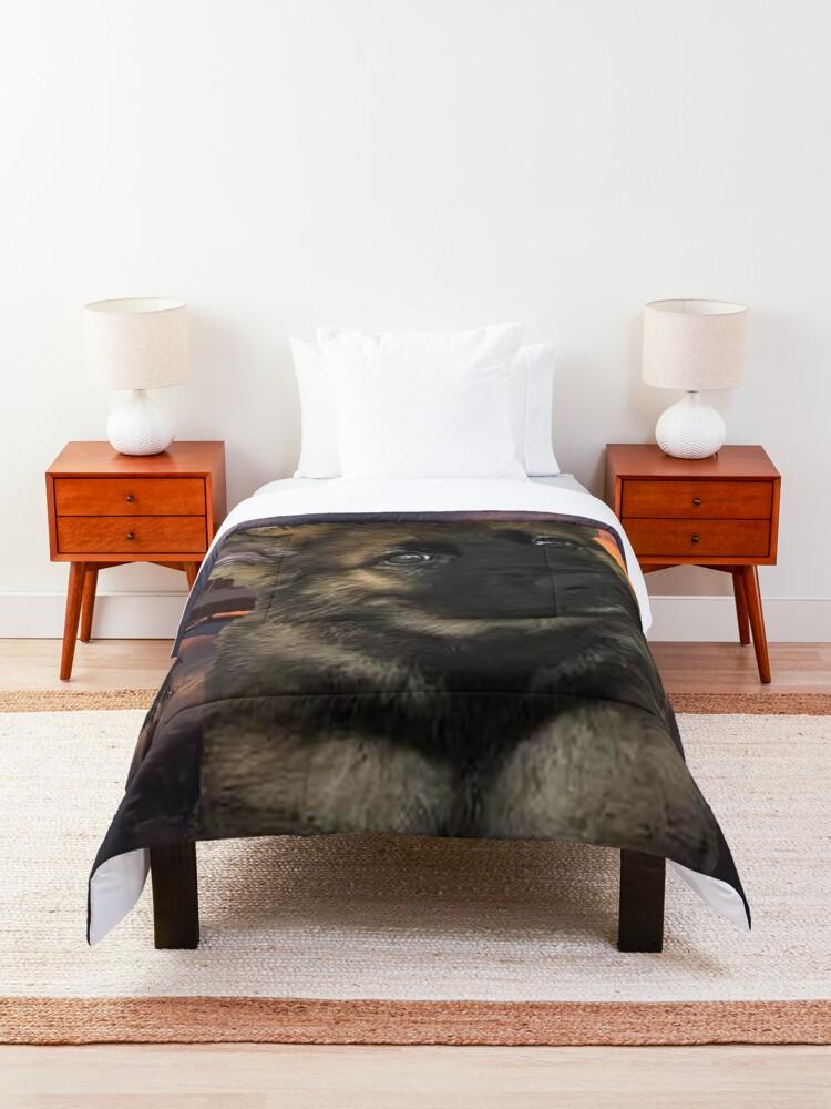 Alternate view of Loki German Shepherd Comforter