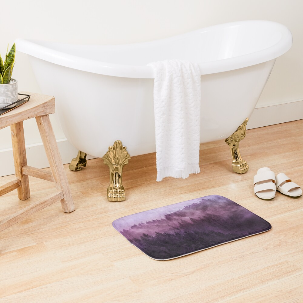 Excuse Me, I'm Lost // Laid Back Edit Bath Mat