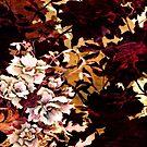 Tropical Blaze Autumn Color Floral by SandAndChi