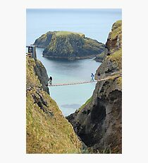 Carrick-a-Rede Rope Bridge Photographic Print