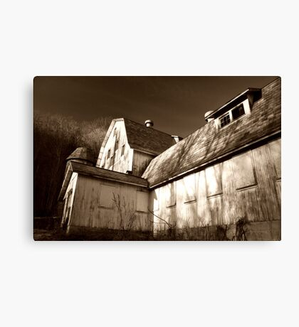 The Nyce Dairy Barn Canvas Print