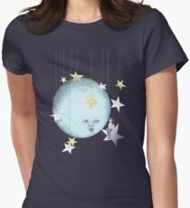 Hanging with the Stars Womens Fitted T-Shirt