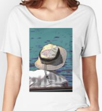 people on the beach Women's Relaxed Fit T-Shirt