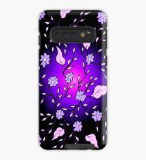Violet Blooms Case/Skin for Samsung Galaxy