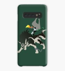 Wolf Link and Midna - Vector Art Case/Skin for Samsung Galaxy