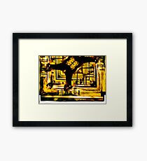 Dimension Framed Print