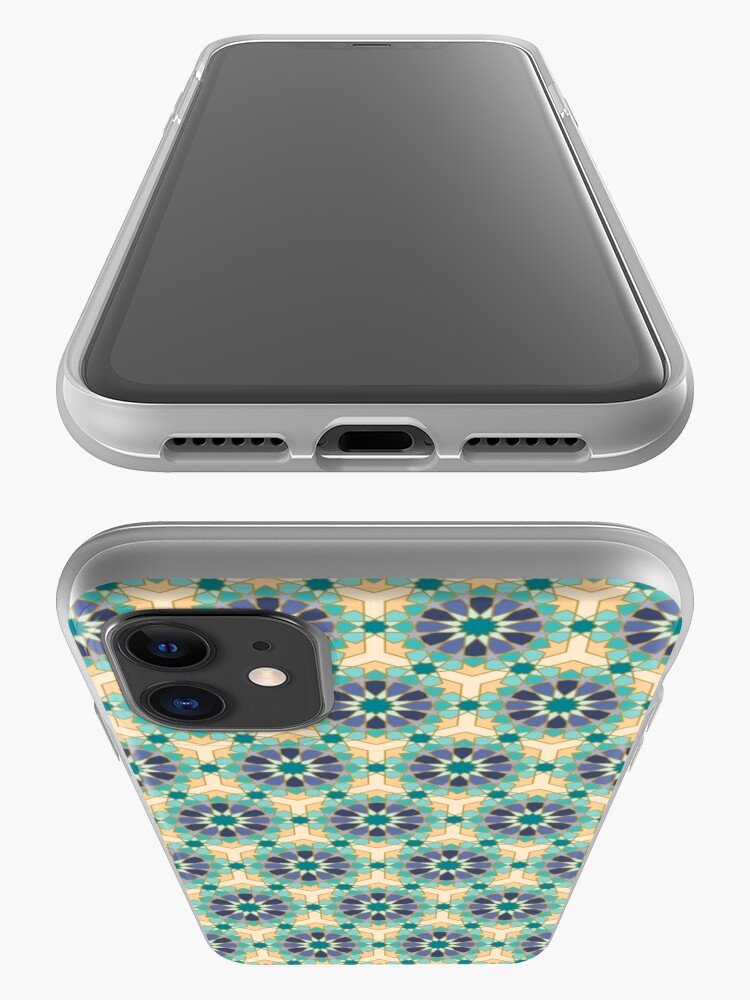 Alternate view of Geometric Pattern: Arabic Tiles: Dream iPhone Case & Cover