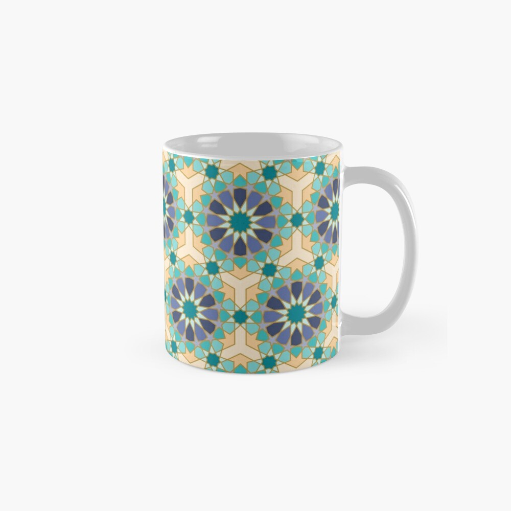 Geometric Pattern: Arabic Tiles: Dream Mug