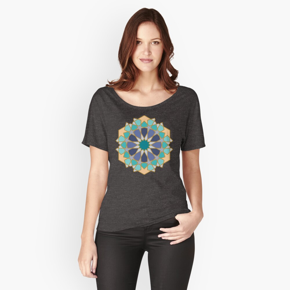 Geometric Pattern: Arabic Tiles: Dream Relaxed Fit T-Shirt