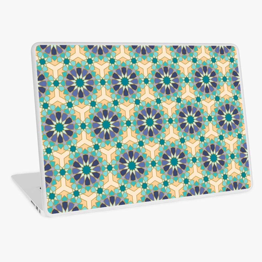 Geometric Pattern: Arabic Tiles: Dream Laptop Skin