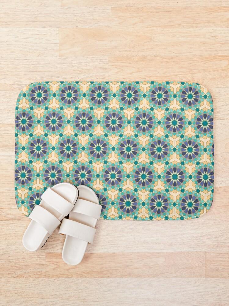 Alternate view of Geometric Pattern: Arabic Tiles: Dream Bath Mat