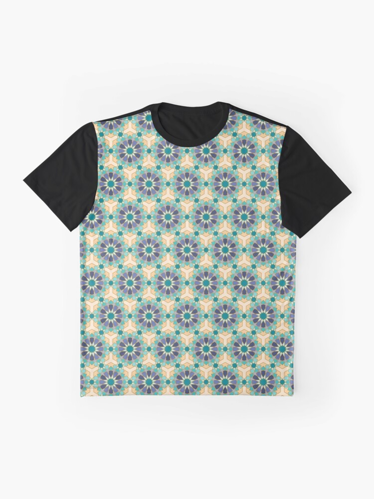 Alternate view of Geometric Pattern: Arabic Tiles: Dream Graphic T-Shirt