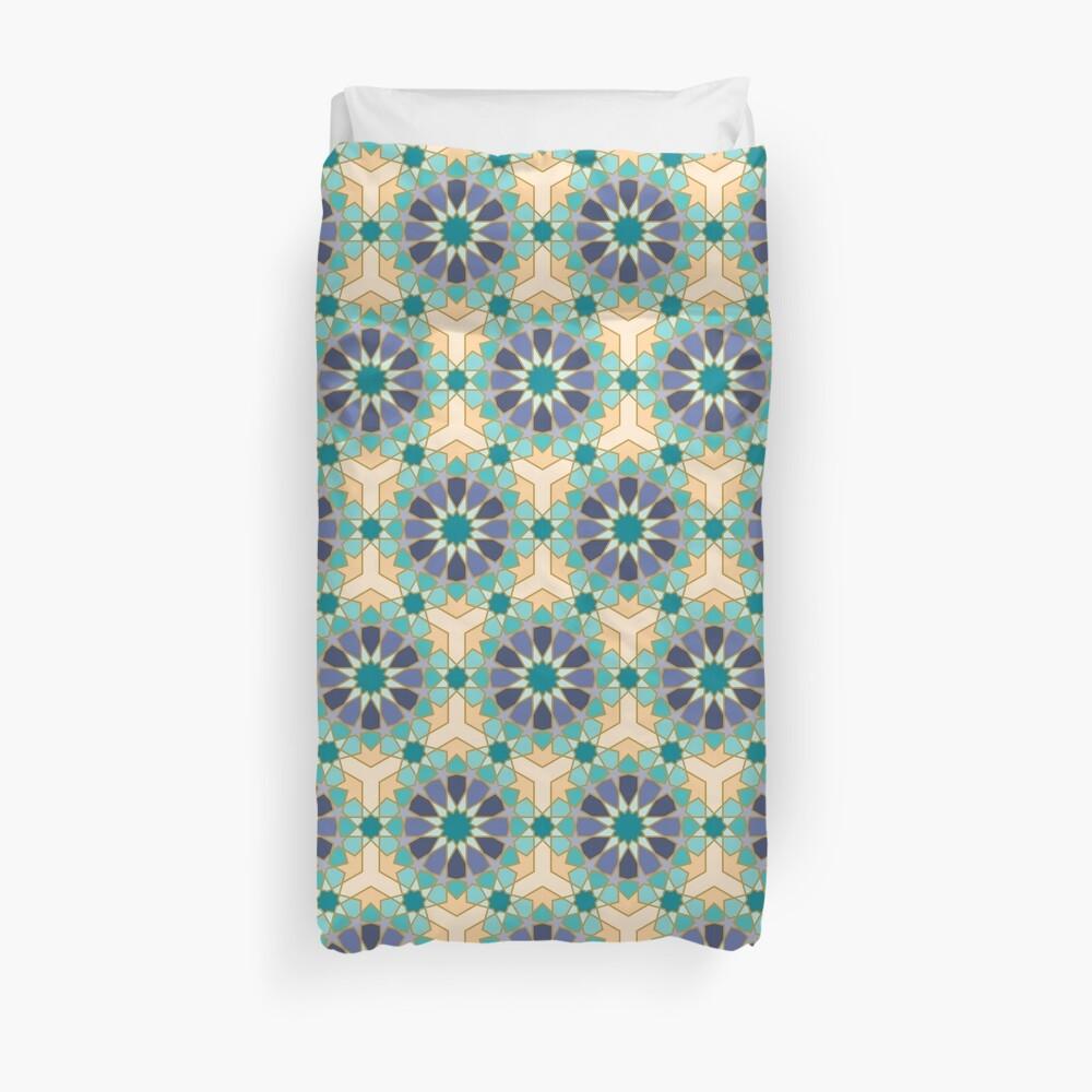 Geometric Pattern: Arabic Tiles: Dream Duvet Cover
