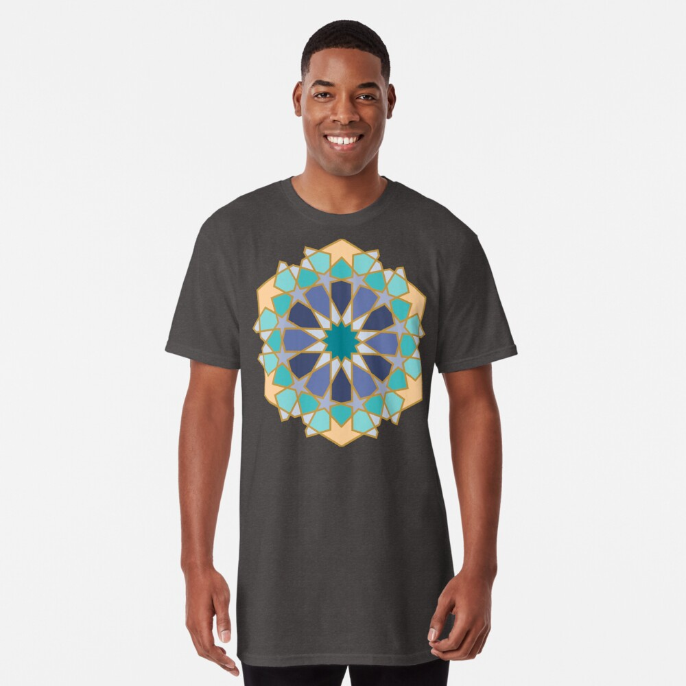 Geometric Pattern: Arabic Tiles: Dream Long T-Shirt