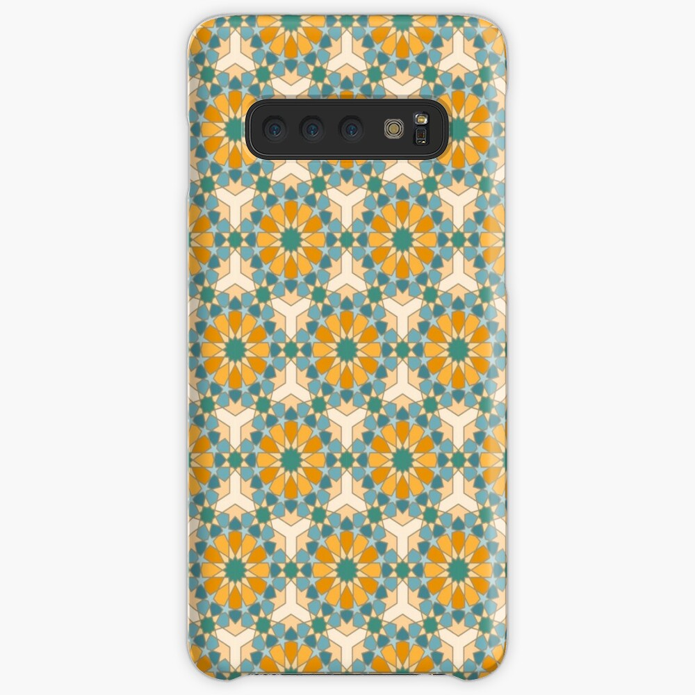 Geometric Pattern: Arabic Tiles: Lily Case & Skin for Samsung Galaxy