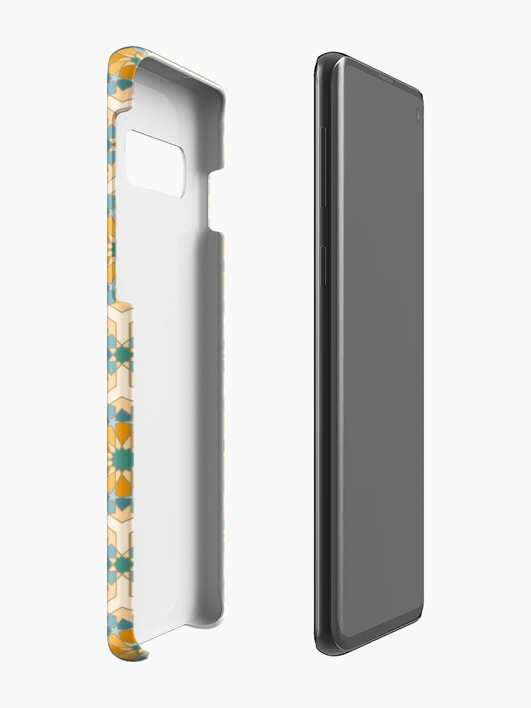 Alternate view of Geometric Pattern: Arabic Tiles: Lily Case & Skin for Samsung Galaxy