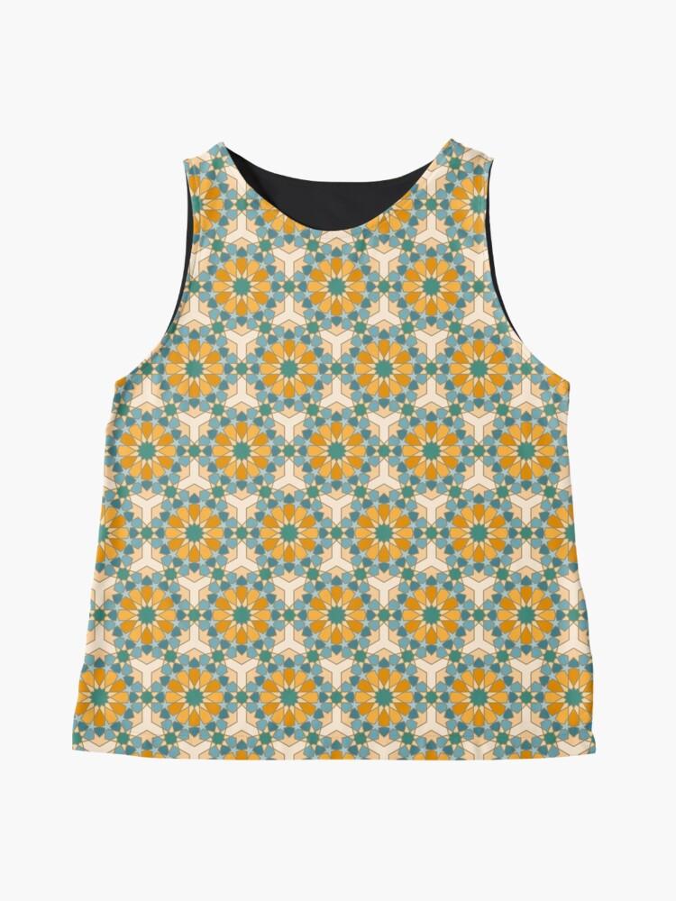 Alternate view of Geometric Pattern: Arabic Tiles: Lily Sleeveless Top