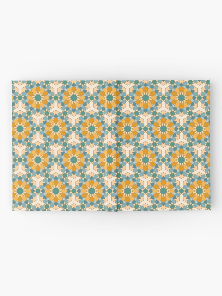 Alternate view of Geometric Pattern: Arabic Tiles: Lily Hardcover Journal