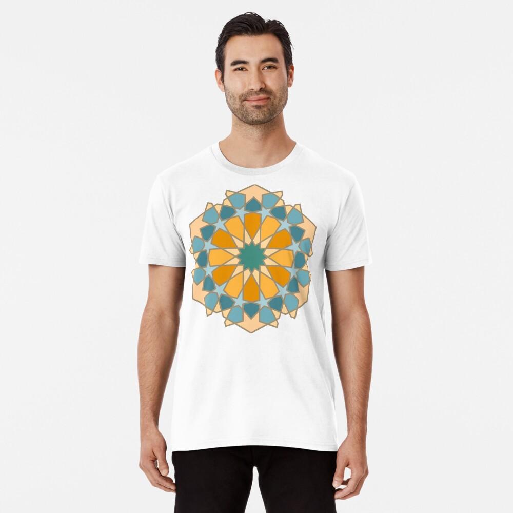 Geometric Pattern: Arabic Tiles: Lily Premium T-Shirt