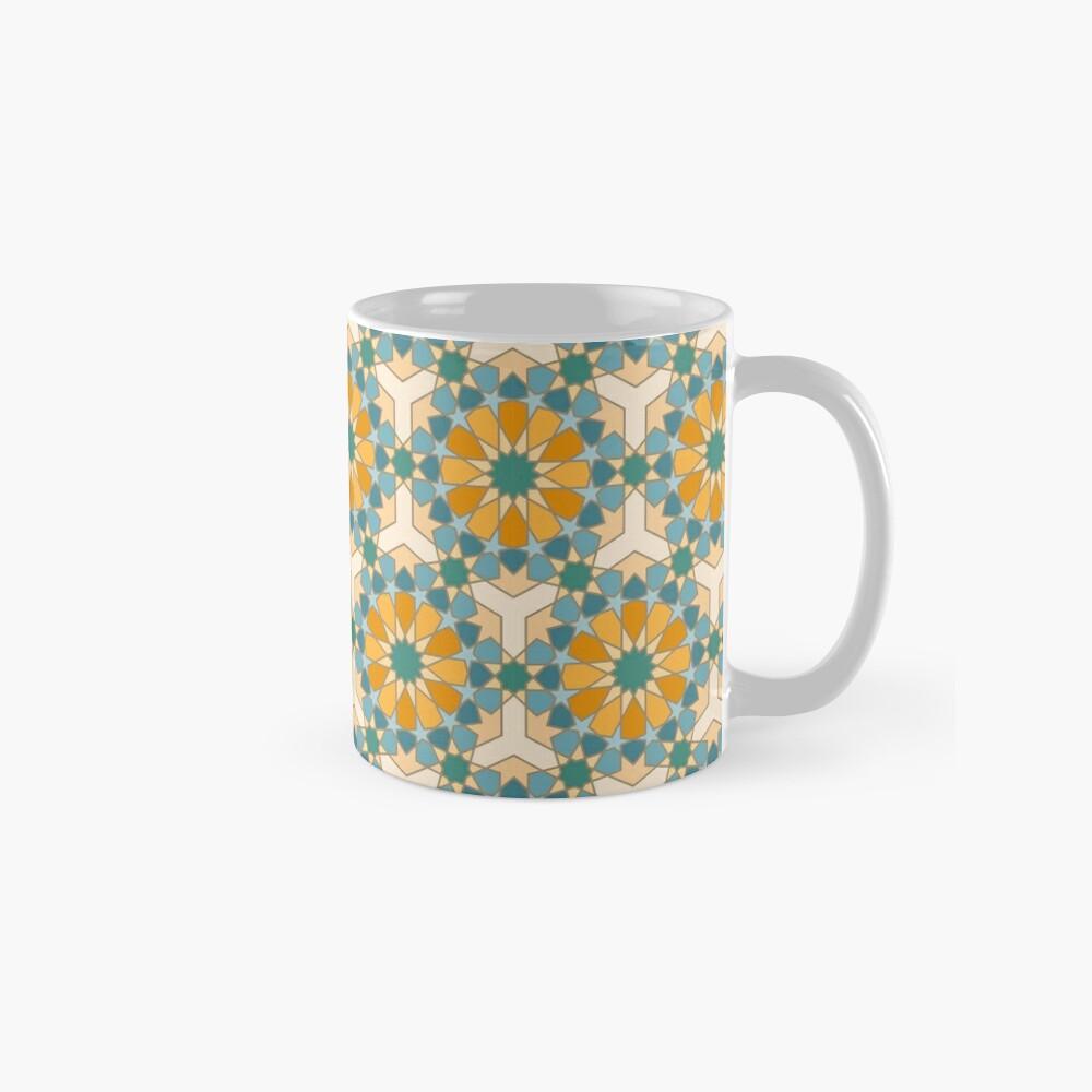 Geometric Pattern: Arabic Tiles: Lily Mug