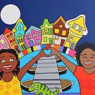 Happy in love in Curacao by Mirjam Griffioen