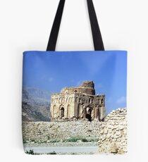 Ruins of Qalat in Oman Tote Bag
