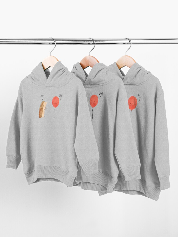 Alternate view of impossible love Toddler Pullover Hoodie