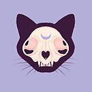 Cat Skull by Wendy-Stephens