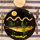 Dish on fish  by Andy Renard
