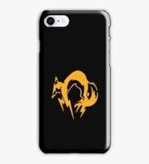 Metal Gear Solid - FOX iPhone Case/Skin