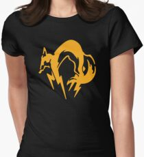 Metal Gear Solid - FOX Women's Fitted T-Shirt