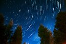 Circular Star Trails by Andrew Dickman