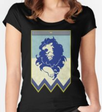 Fire Emblem 3 Houses: Blue Lions Banner Fitted Scoop T-Shirt