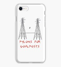 Pylons for Goalposts! iPhone Case/Skin