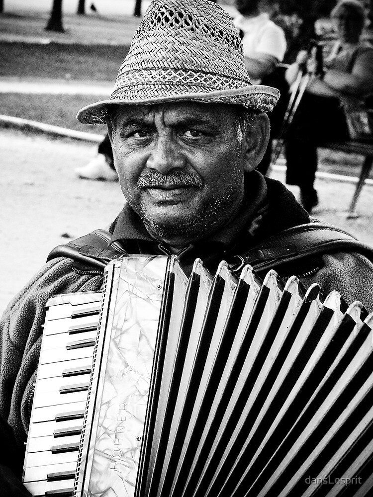 The Accordionist by dansLesprit